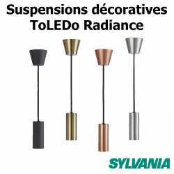 Suspensions décoratives pour ampoules SYLVANIA TOLEDO