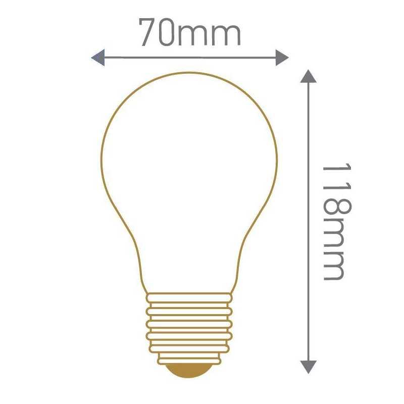 Ampoule LED standard A70 8W