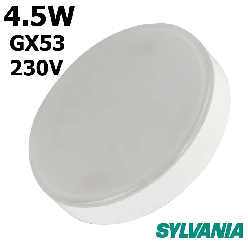 Lampe SYLVANIA Micro Lynx Gx53 4.5W