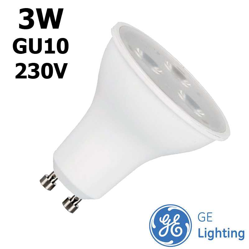 Ampoule LED GU10 GE Start 3W