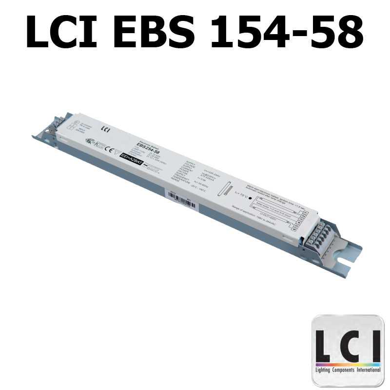 Ballast electronique LCI EBS 154-58