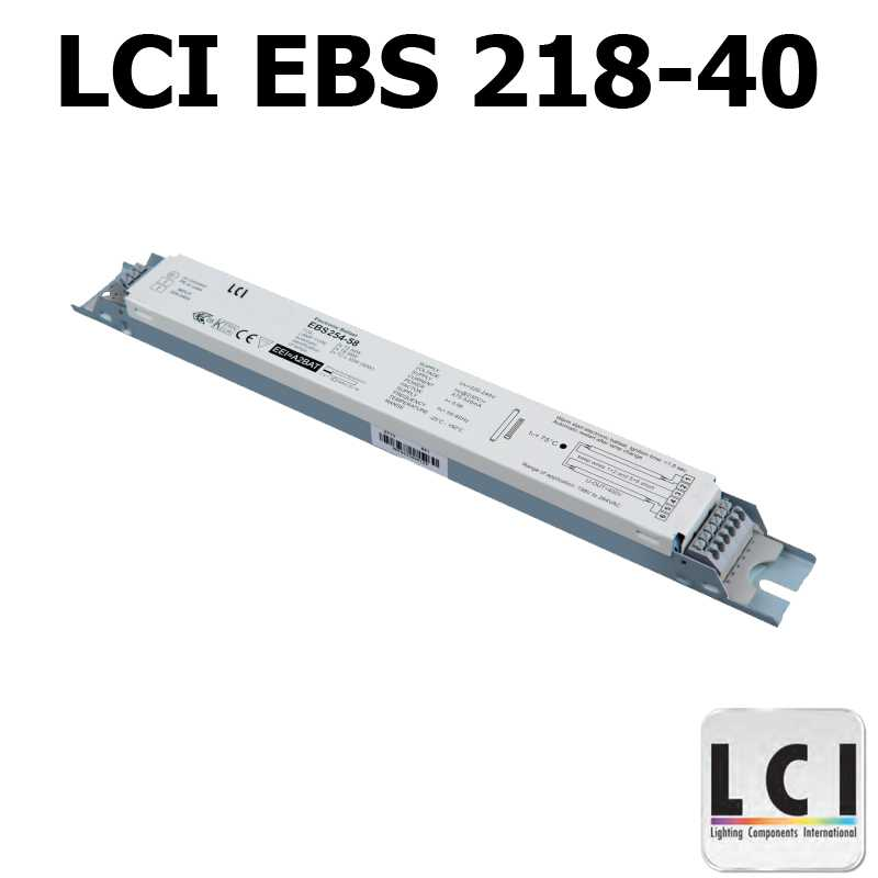 Ballast electronique LCI EBS 218-40