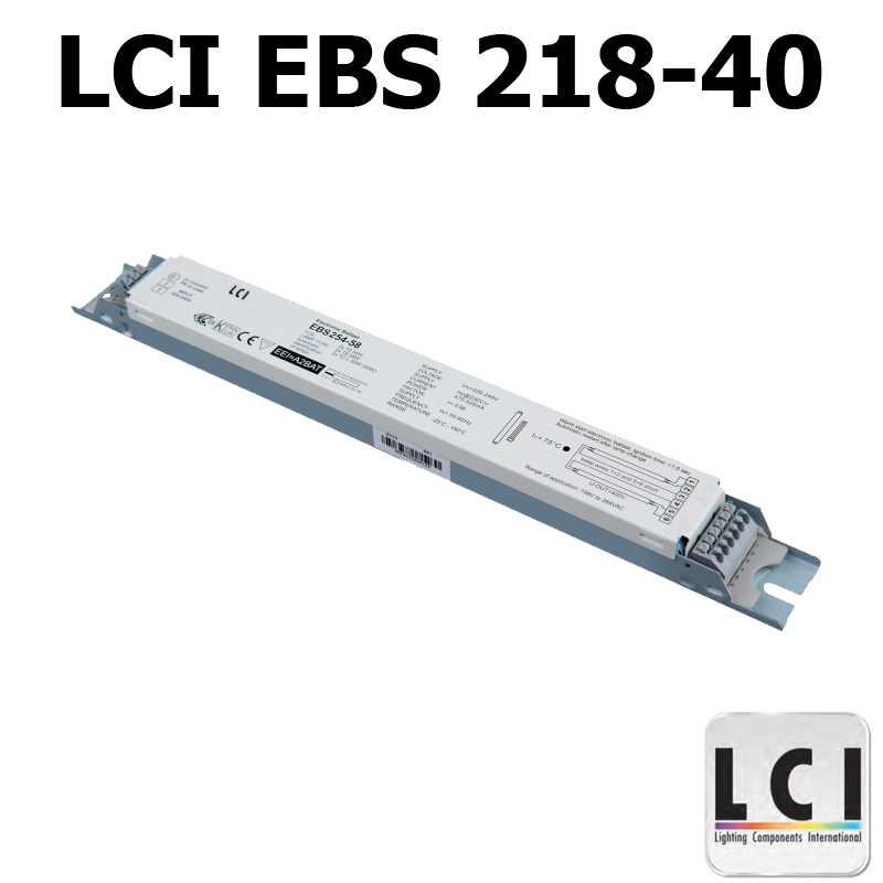 Ballast electronique LCI EBS 218-40