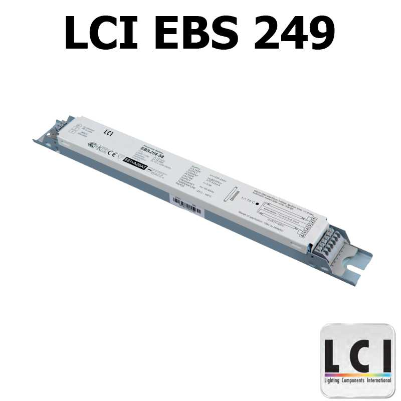 Ballast electronique LCI EBS 249
