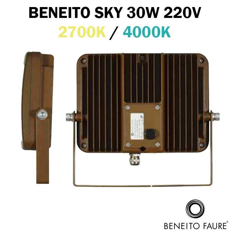 PROFIL projecteur BENEITO FAURE SKY 30W corten