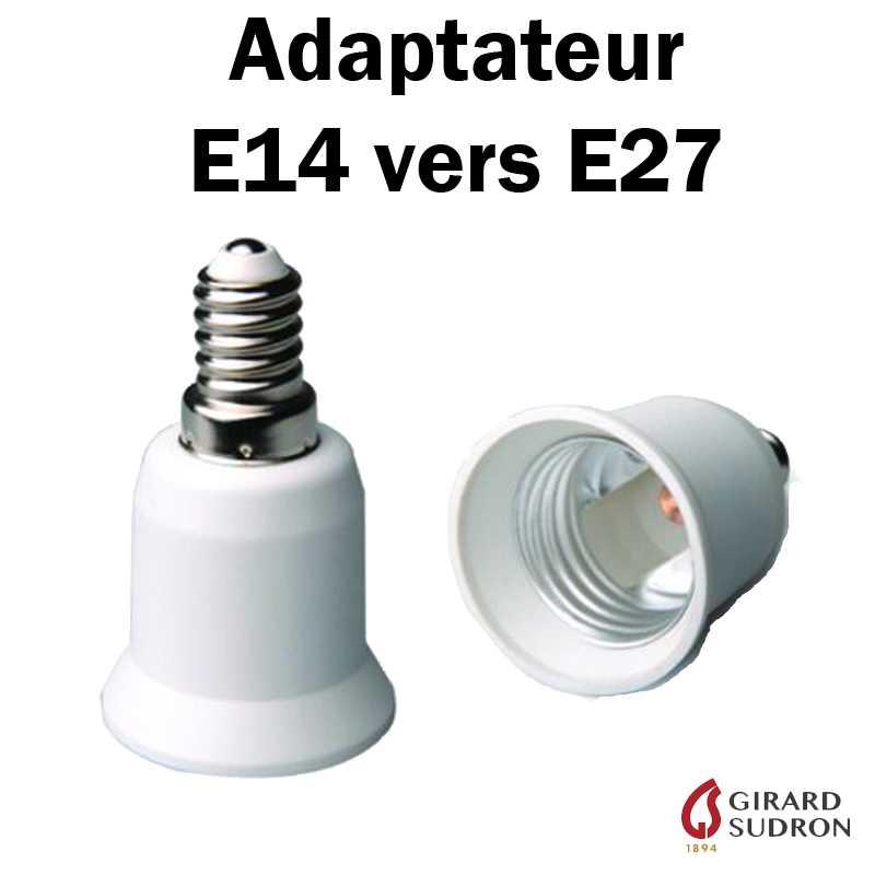 Adaptateur E14 vers E27