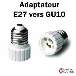 ADAPTATEUR E27 VERS GU10