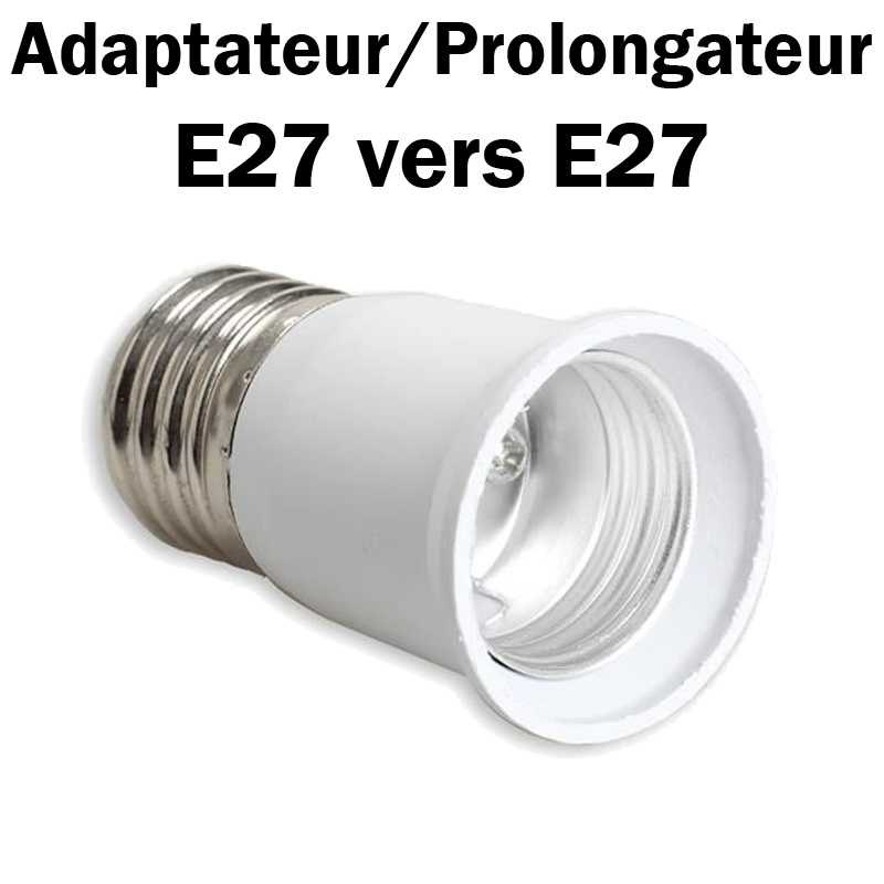 PROLONGATEUR E27 VERS E27