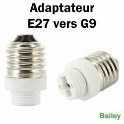ADAPTATEUR E27 VERS G9