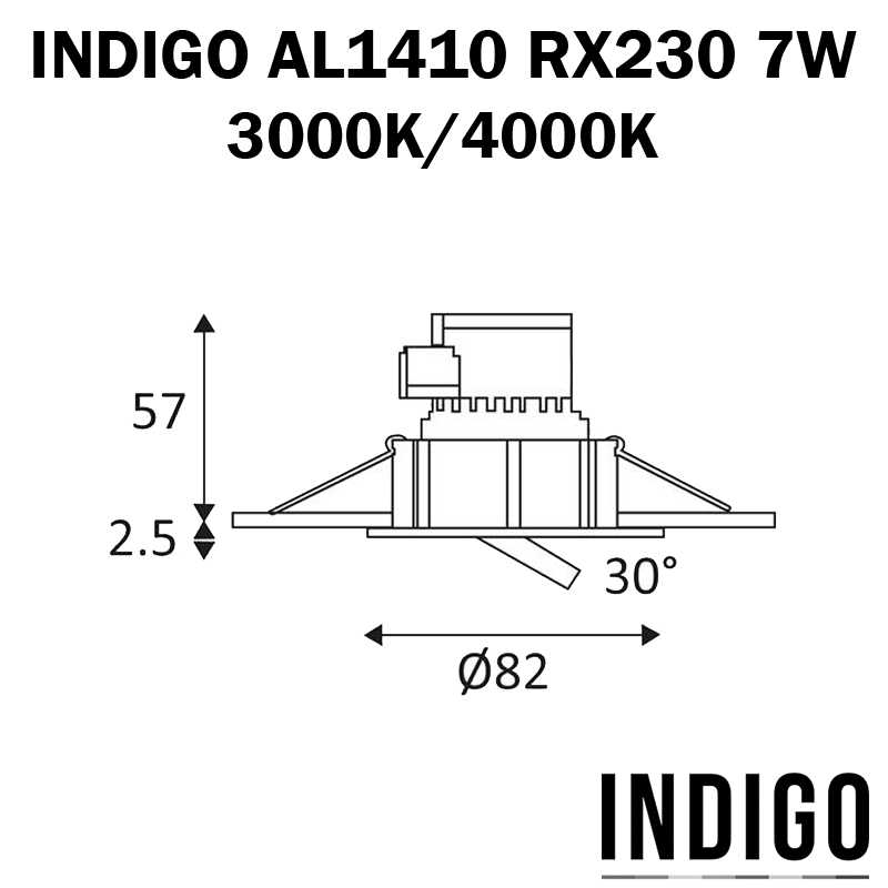 DIMENSION AL1014 RX230 7W