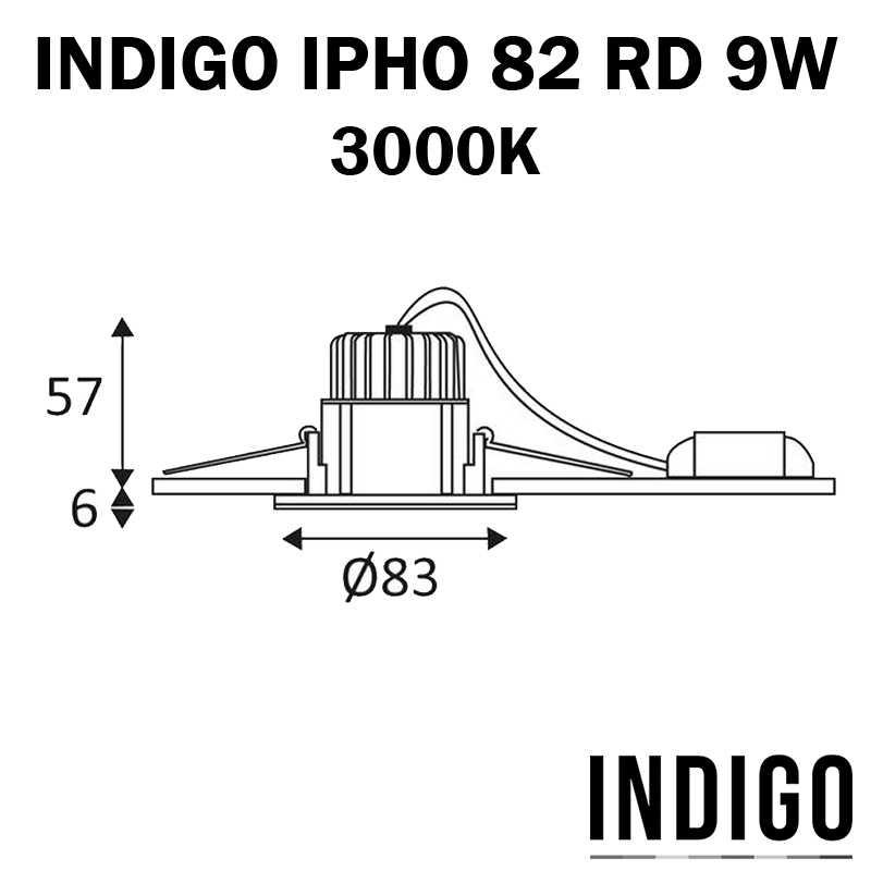 DIMENSIONS INDIGO IPHO 82 RD