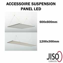 Filins de suspension pour dalle LED