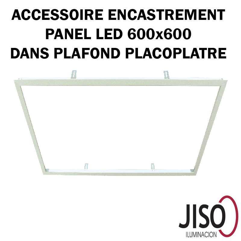 Cadre encastré pour panneau LED