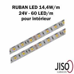 Ruban LED 14.4W mètre