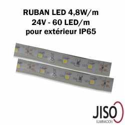 Ruban LED 4,8W mètre extérieur