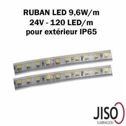 Ruban LED 9.6W mètre extérieur