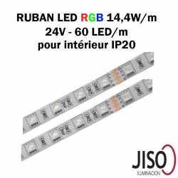 Ruban LED 14.4W mètre RGB