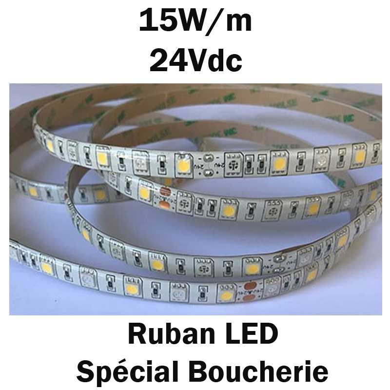 ruban led special boucherie 15w/m