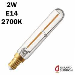 SUDRON Tubulaire Filament LED 2W 120mm
