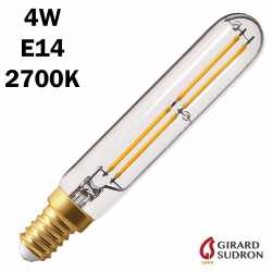 SUDRON Tubulaire Filament LED 4W 120mm