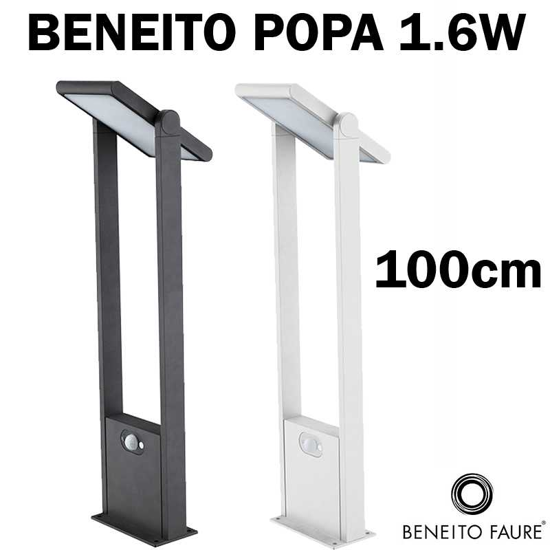 borne exterieur solaire beneito popa 100cm