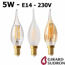 Ampoule flamme LED grand siècle 5W GIRARD SUDRON