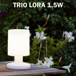 LAMPE A POSER TRIO LORA EXTERIEUR