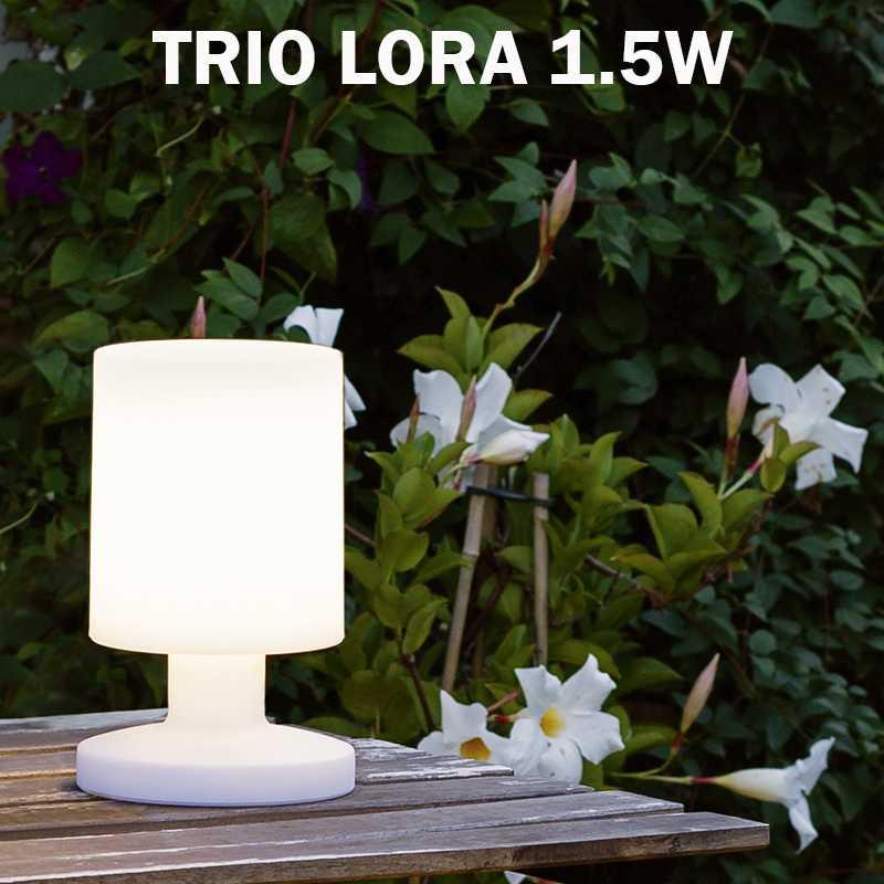 Lampe Lora Extérieur Eclairage Poser Jardin Trio À R57071101 8yvNwn0mO
