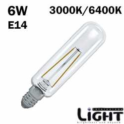 Ampoule tubulaire LED E14 6W