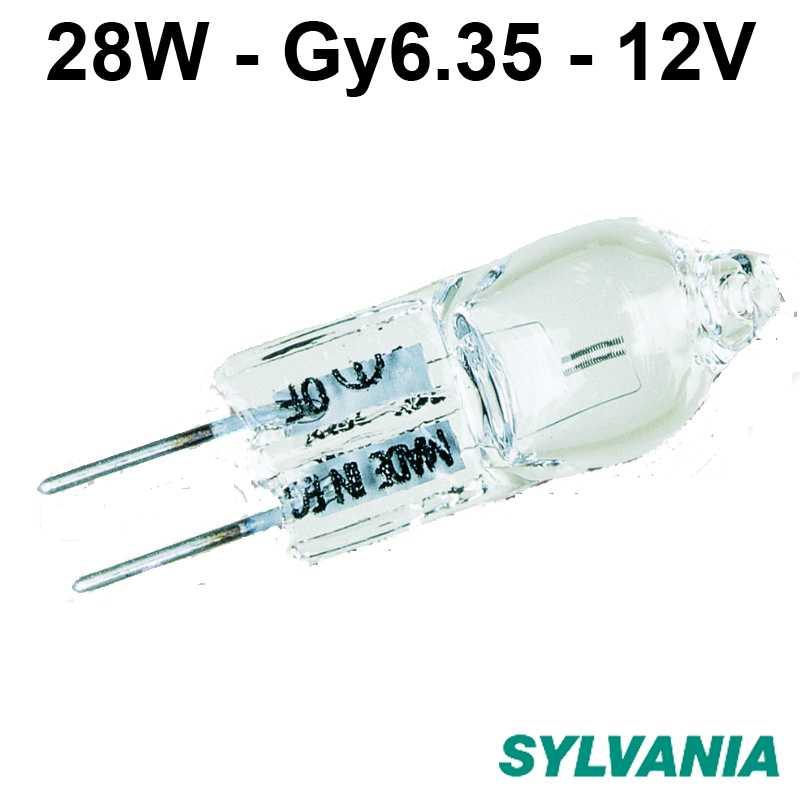 ampoule halogène 28W Gy6.35