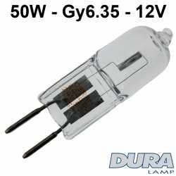 ampoule halogène 50W Gy6.35 xenon