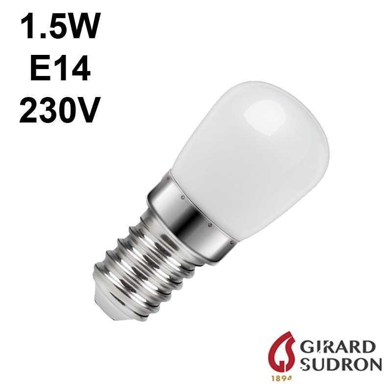 ampoule poirette 1.5W E14 pour réfrigérateur