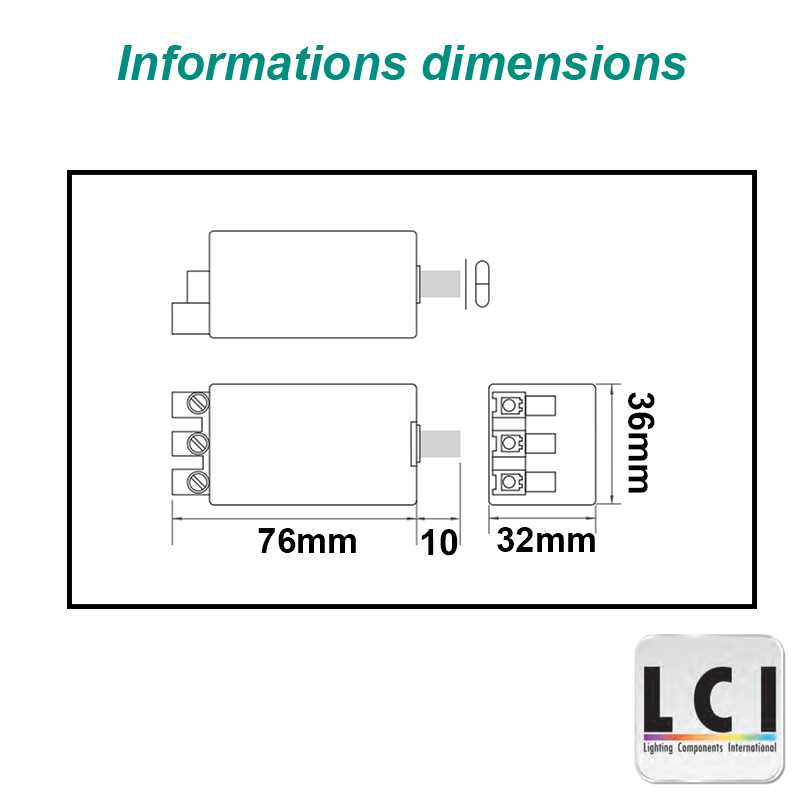 Amorceur LCI 1302011