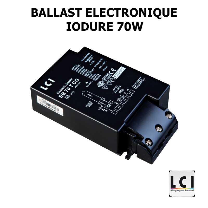 Alimentation électronique iodure 70W