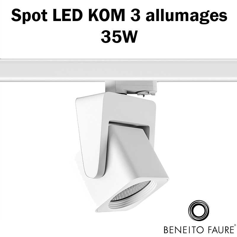 spot led beneito 35w 3 allumages