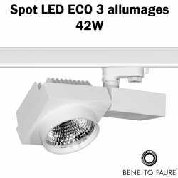 spot led beneito 42w 3 allumages ECO