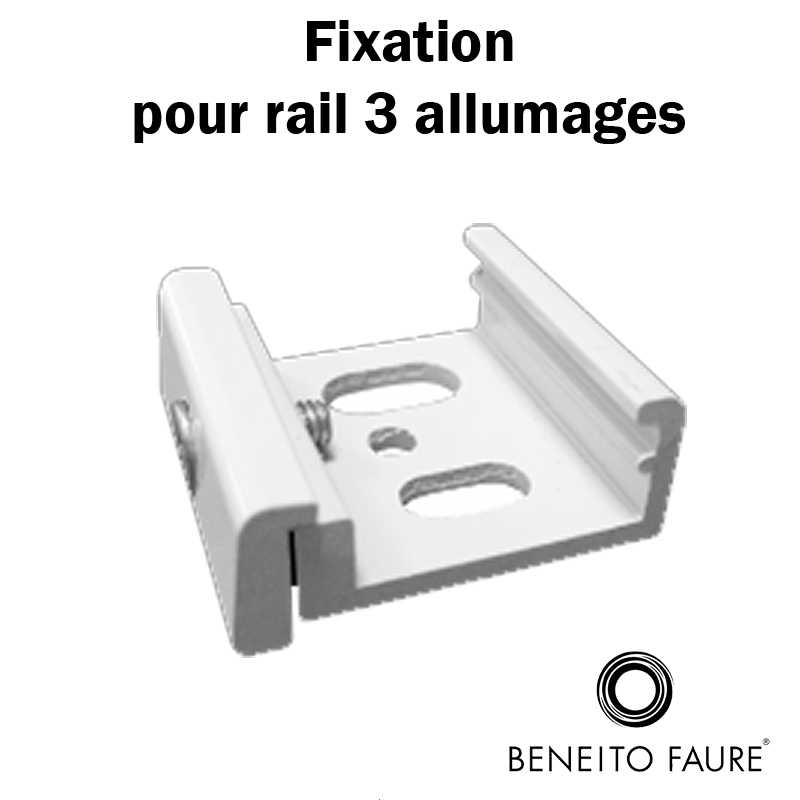fixation rail 3 allumages