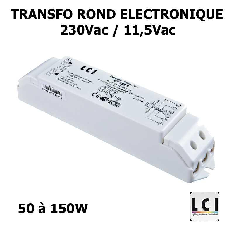 TRANSFO 230V 12V 150VA - LCI 1111150