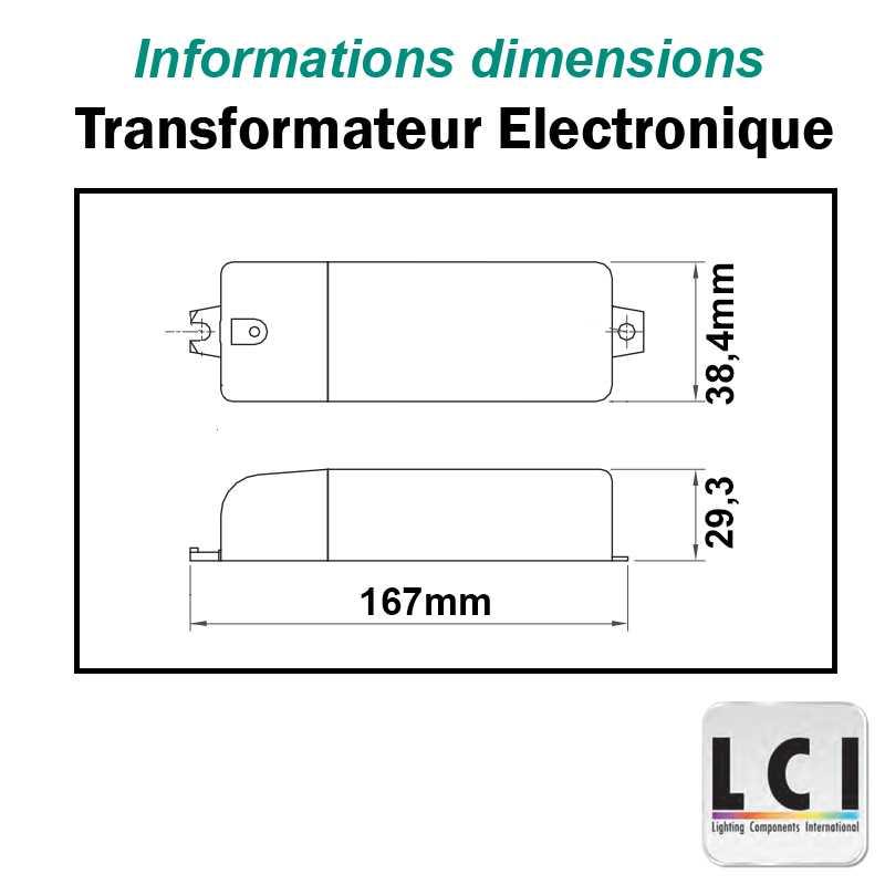 TRANSFORMATEUR 230V 12V 150VA