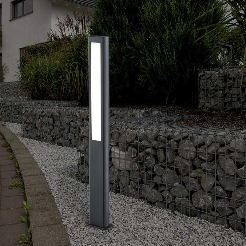 Borne LED extérieur TRIO RHINE 1m