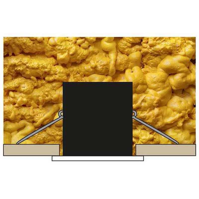 Spot pouvant être recouvert par un isolant Soufflé