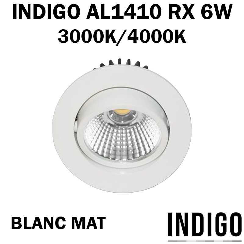 SPOT LED BLANC ENCASTRE INDIGO AL1014RX