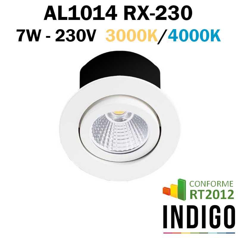 Spot encastré orientable INDIGO RT1014 RX-230