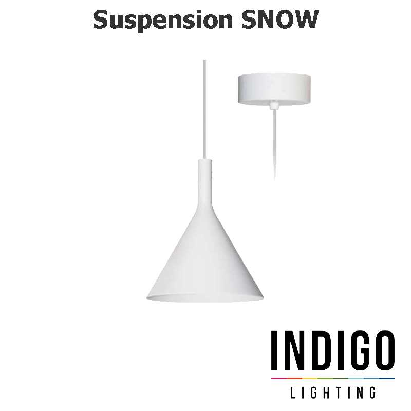 Suspension LED INDIGO SNOW