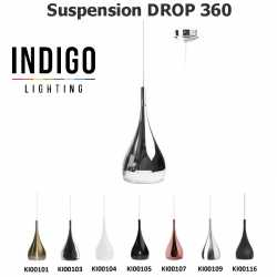 Suspension LED INDIGO DROP 360