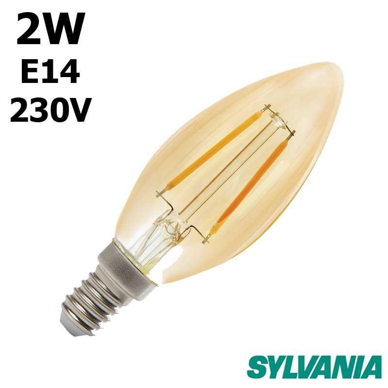 SYLVANIA Flamme LED ambrée 0027332