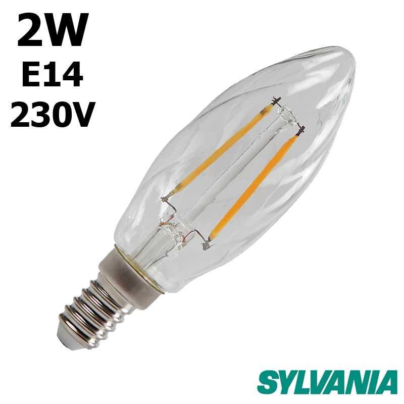 SYLVANIA Flamme torsadée LED 0027336