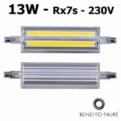 Tube LED R7s 13W 118mm