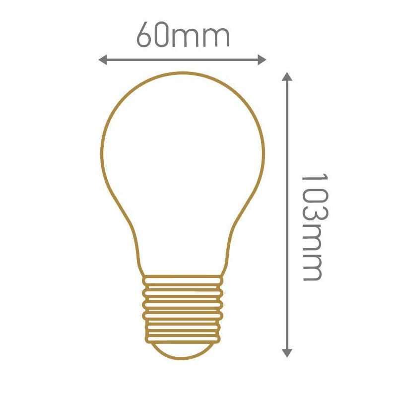 Lampe FILAMENT LED standard 4W GIRARD SUDRON