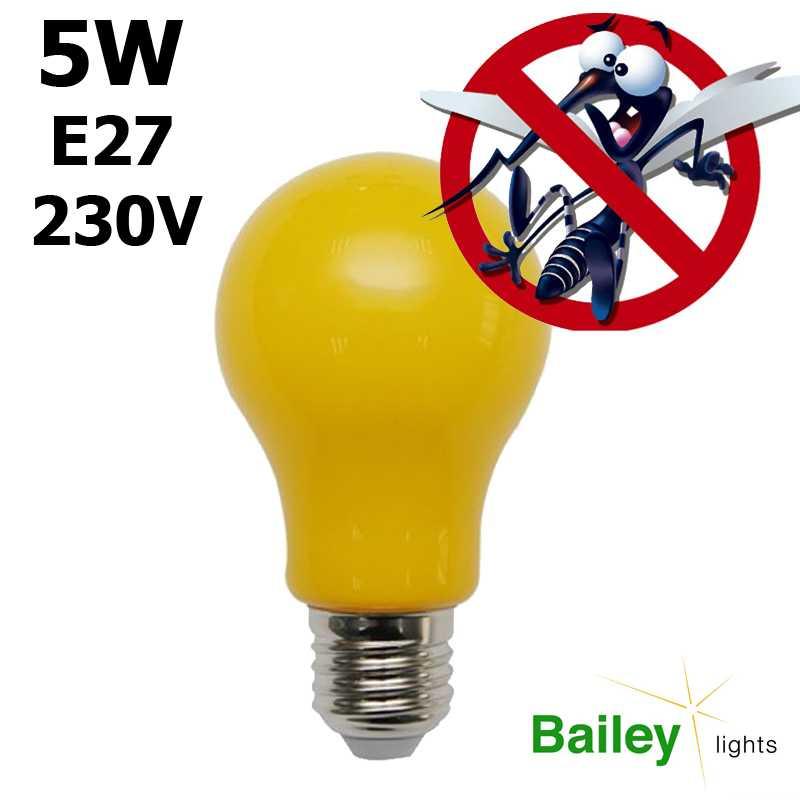 Led Ampoule Lampe Anti Insecte Moustique Monochromatique E27 odCxerB